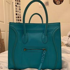 Celine Paris Blue bag